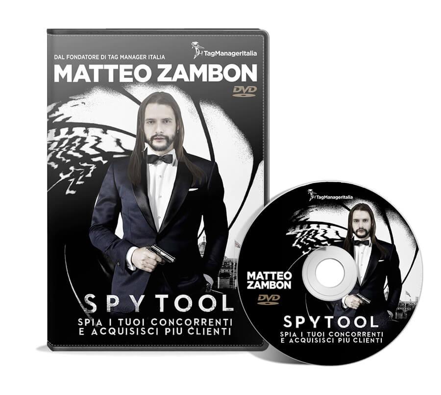 Copertina DVD Spia i tuoi concorrenti e acquisisci più clienti