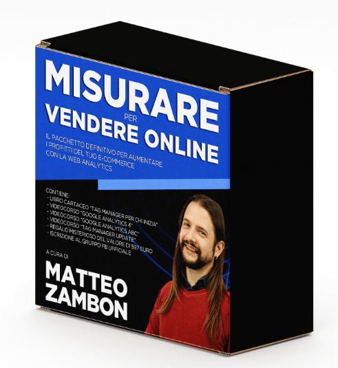 Pacchetto Misurare per Vendere Online